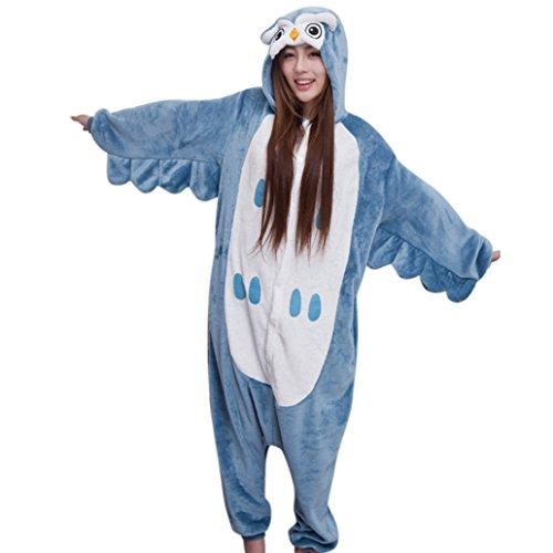 Keral Cosplay Kostüme Tierkostüme Erwachsene Pyjamas Kostüm Pyjamas Owl Größe (Kostüme Billig Damen)