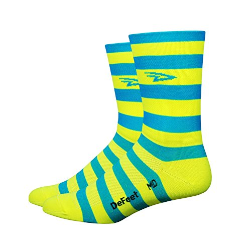 defeet-aireator-5-d-logo-striper-double-cuff-bluehi-vis-yellowhtml-l-43-455