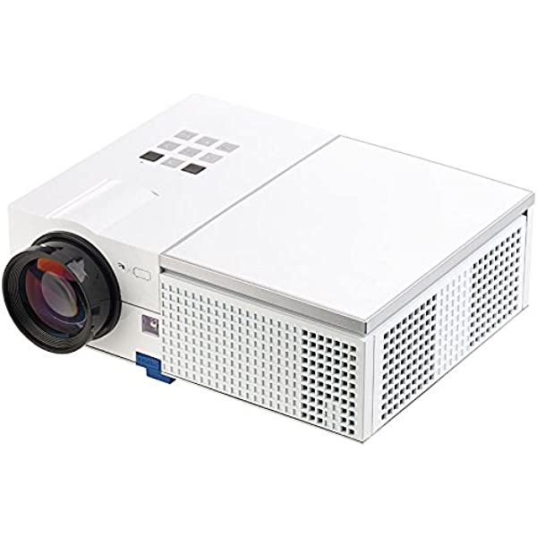 Scenelights Projektor Led Lcd Beamer Mit Media Player 1280 X 800 Pixel Hd Und 2 400 Lumen Videoprojektor Heimkino Tv Video