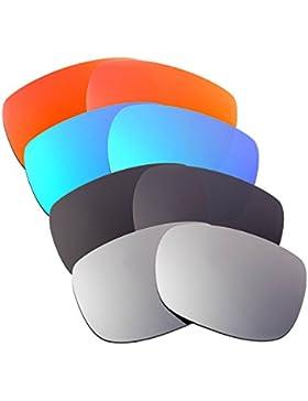 Hkuco Plus Mens Replacement Lenses For Oakley TwoFace Red/Blue/Black/Titanium Sunglasses