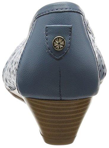 Van Dal Grantham, Sandale compensée femme Blue (jeans)