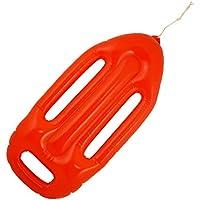 Flotador Rojo Inflable de Salvavidas - Sin Marca - Sin Logotipo de Baywatch