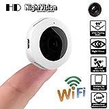 ChallengE-Outdoor Caméra de Surveilance WiFi,H10 Mini CaméRa 1080P H6 Dv WiFi Mini CaméRa CaméRa Action CaméScope,panoramique caméras à Distance de détection de Mouvement Nuit intérieure/extérieure