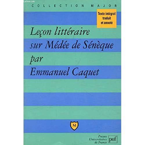 Leçon littéraire sur 'Médée' de Sénèque