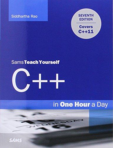 Sams Teach Yourself C++ in One Hour a Day (Sams Teach Yourself One Hr/Day)