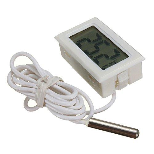 DaoRier Digitales LCD-Thermometer für Aquarien, -50 °C bis 110 °C