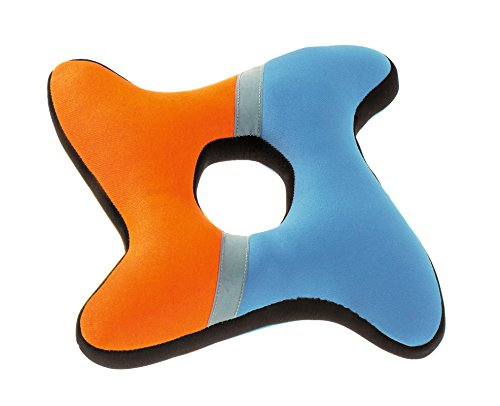 Hunter 91557 Hundespielzeug Aqua Ring, orange / blau / grau