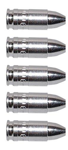 Flachberg Pufferpatrone Pufferpatronen Alu 9mm Luger 5 Stück