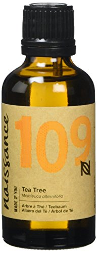 Naissance Tea Tree Essential Oil (#109) 50ml - Pure, Natural, Cruelty Free, Vegan & Undiluted