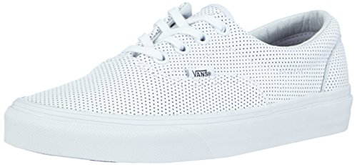 Vans U ERA PERF LEATHER, Sneakers basses mixte adulte Blanc (Perf Leather)