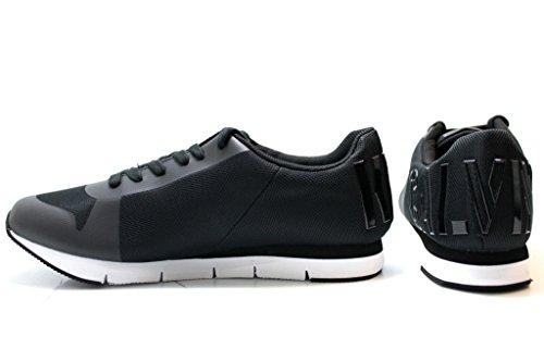 Baskets Femme TAJA ENGRENER R4110 Noir Chaussures Pour Femmes Casual Sportif Noir