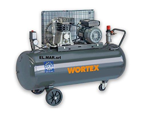 Compressore a Cinghia 100 Litri 2 HP 1,5 KW 230 V Monofase...