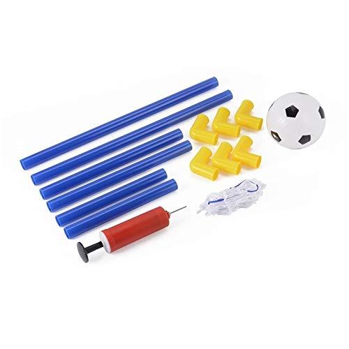 CamKpell Folding Mini Fußball Fußball Torpfosten Net Set mit Pumpe Kinder Sport Indoor Outdoor Spiele Spielzeug Kind Geburtstagsgeschenk Kunststoff