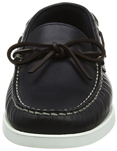 Hackett London Lace Veg Docksider, Chaussures de Running Homme Bleu (Navy)