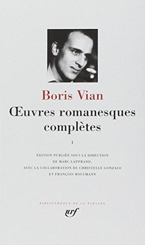 Coffret Œuvres romanesques complètes, I, II