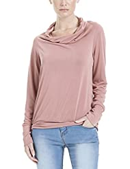 Bench Damen Sweatshirt High Waterfall Neckline