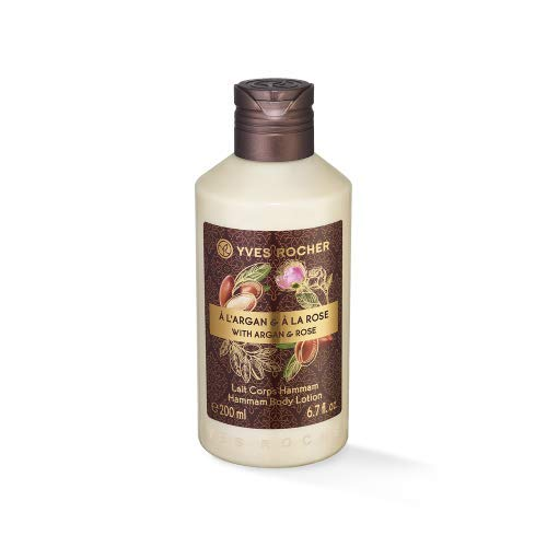 YVES ROCHER LATTE CORPO 200ml all'ARGAN e ROSA DEL MAROCCO