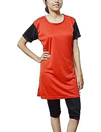 TAB FASHION SwimWear for Women(Long)Red