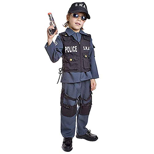 Dress Up America Kinder Deluxe S.W.A.T. Offizier Kostüm