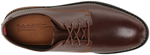 Timberland, Scarpe stringate uomo Marrone marrone Red/Brown Smooth