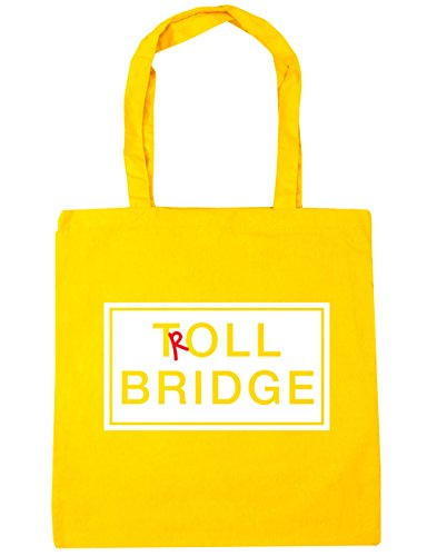 hippowarehouse-bolsa-de-playa-de-algodon-mujer-amarillo-amarillo-talla-unica