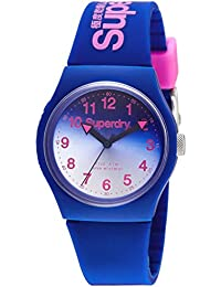 Superdry Analog Blue Dial Women's Watch-SYG198UU