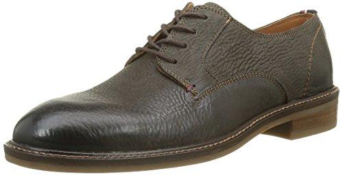 Tommy Hilfiger R2285Ounder 1N, Chaussures à Lacets Homme Marron - Braun (Dark Brown 201)