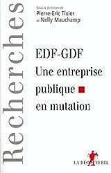 EDF-GDF : une entreprise publique en mutation