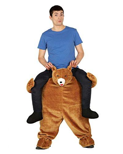 Carry Me Kostüm Plüsch Bär für Fasching One Size (Plüsch Bär Kostüm)