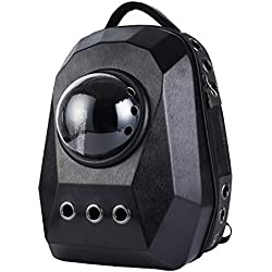 WSNH888 Portador Portátil para Mascotas, Astronauta Pet Cat Dog Puppy Carrier Travel Bag Space Capsule Backpack Respirable Knapsack Multiple Air Vents Waterproof Bolso Ligero,B