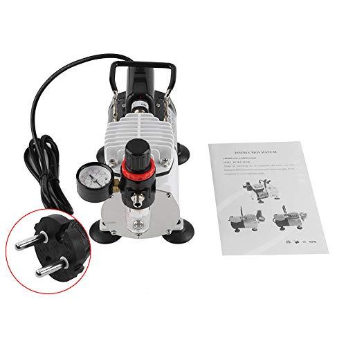 Silent-Luftkompressor Air Compressor Doppelspray-Spritzlack ,9,8 x 19,5 x 20,5 cm
