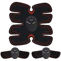 Neborn Estimulador Muscular Abdominal Cinturón electrónico de Entrenamiento Muscular Cinturón Adelgazante del Cuerpo EMS Muscle Trainer Estimulador AB