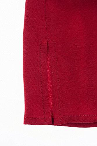 Ulla Popken Femme Grandes tailles Top 703029 Bourgogne
