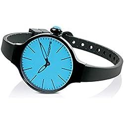 HOOPS Uhren CHERIE Noir hellblau 2483le-04