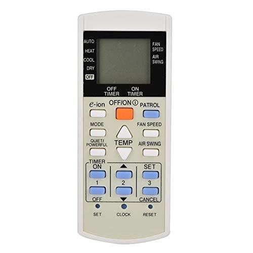 ASHATA Ersatzfernbedienung Klimaanlage,Verschleißfest Klimaanlage Fernbedienung Remote Control für Panasonic A75C2817 A75C2821 A75C2835 usw.