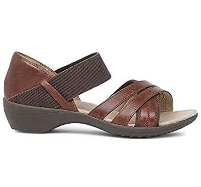 Hush Puppies Women's Livy Dharma Leather Fashion Sandals