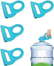 4 عبوات مقبض زجاجة مياه الشرب مع مقبض لرافعة زجاجات المياه متقدمة 2 جالون من الجيل الثاني سهل الرفع لزجاجة الم