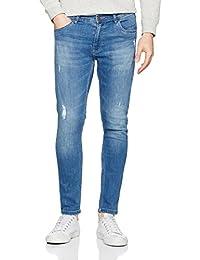 Urban Classics Herren Hose Skinny Ripped Stretch Denim Pants