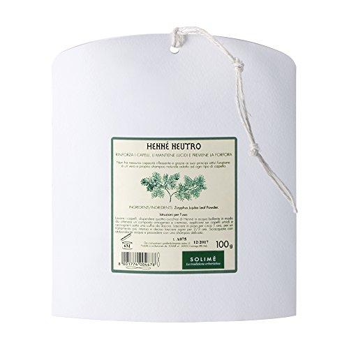 Hennè neutro zizyphus jujuba - trattamento rinforzante 100 g - prodotto erboristico made in italy