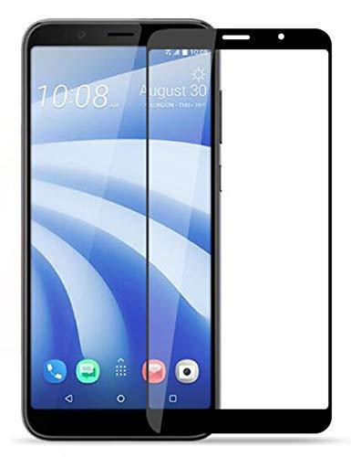 Vicstar HTC U12 Life Panzerglas, HTC U12 Life Vollabdeckung Schutzfolie 9H Härte Gehärtetem Glass für HTC U12 Life