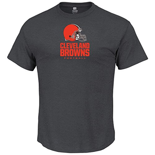 Majestic OUR TEAM Shirt - Cleveland Browns charcoal - S