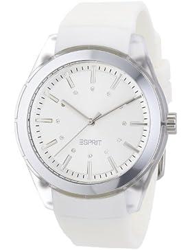 Esprit Damen-Armbanduhr white play Analog Quarz A.ES900642001
