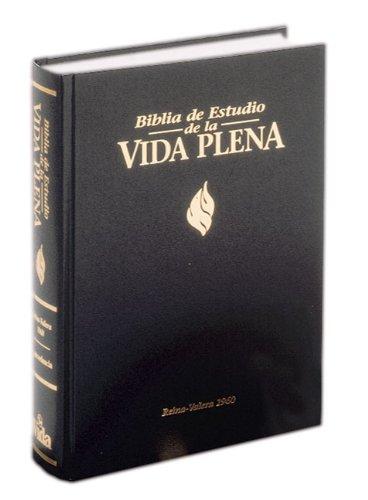 Biblia de Estudio de la Vida Plena-RV 1960 por Zondervan