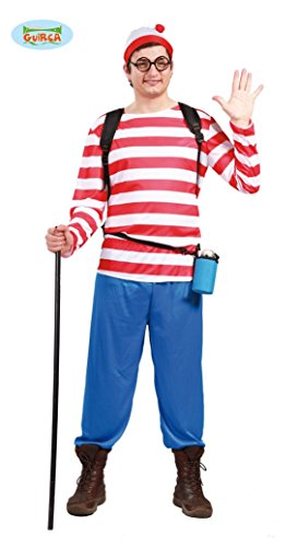 Imagen de disfraz wally para hombre talla l = 52 54