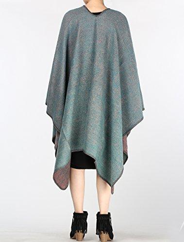 MatchLife Femme Automne longue écharpe Wrap Shawl Art18