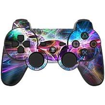 Sony Playstation 3- Lámina protectora adhesiva para mando de PS3, Static