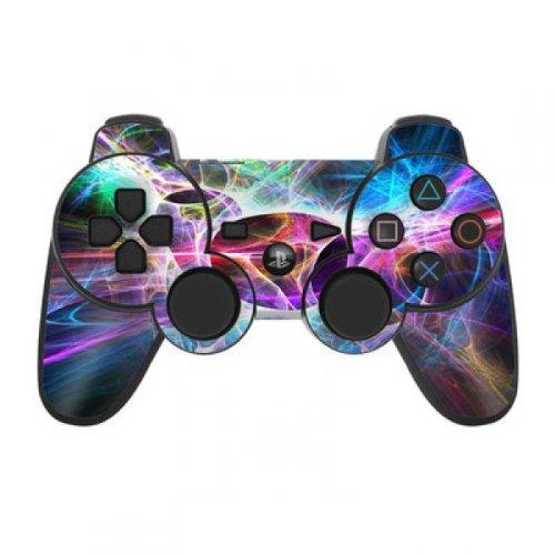 Skins4u Playstation 3 Controller Skin - Design Sticker Set für PS3 Gamepad - Static Discharge