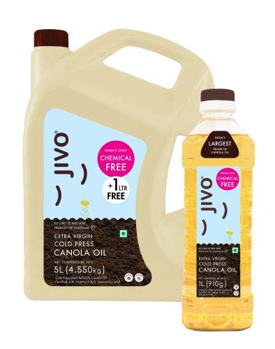 Jivo Canola Refined Edible Oil 5+1 LTR