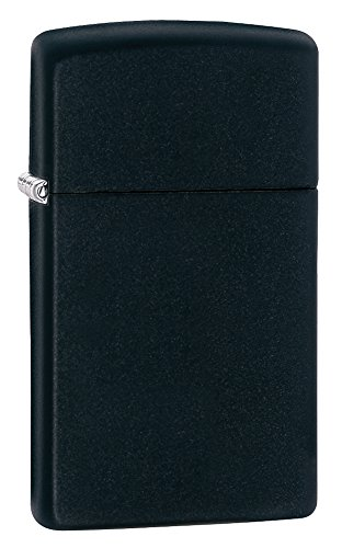 zippo-1618-windproof-lighter-without-logo-black-matte-slim