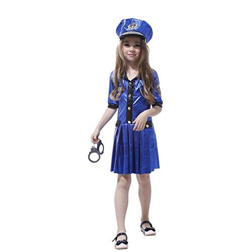 Imagen de dr.mama disfraz cosplay infantil de uniformes de la policía femeninos para niñas alternativa